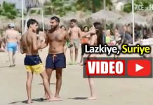 Biz Suriyeli göçmenleri konuşurken Lazkiye plajlarında durum ne?