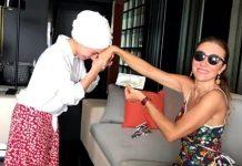 Turizm Bakanı Mehmet Ersoy un eşi pervin ersoy dolar pozu