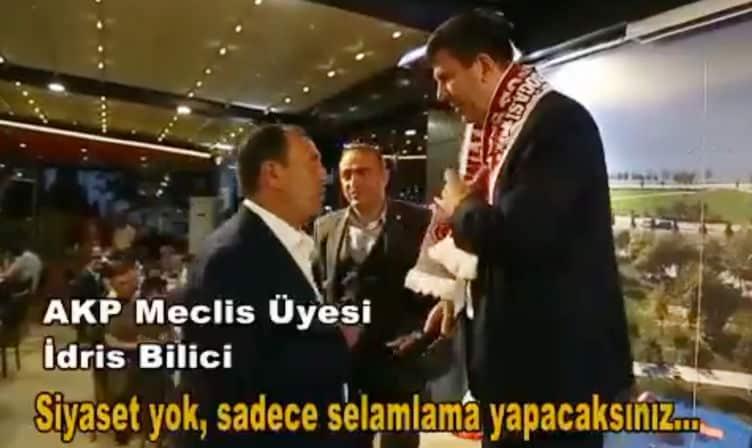 Yardım yemeğinde Kadıköy Belediye Başkanı Şerdil Dara Odabaşı nı konuşturmadılar