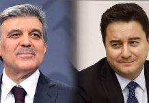 Yeni parti kurulacağını Erdoğan a iletecek, Gül onursal başkan olacak