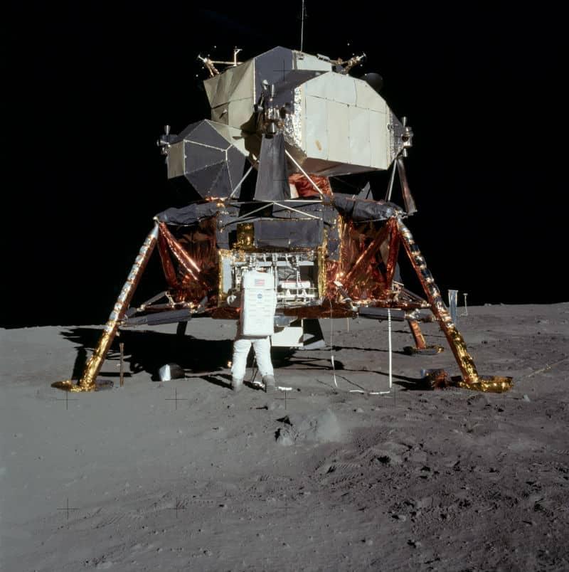 ay modülü nasa lunar lander apollo 11 görevi