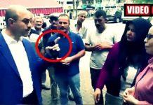 AKP li Terme Belediye Başkanı ali kılıç vatandaşlara: Şov yapmayın!