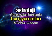 Astroloji: Güneş Aslan burcunda (23 Temmuz - 23 Ağustos) burç yorumları