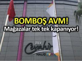 Erdoğan 2016 da açılışını yaptığı AVM de mağazalar kepenk indiriyor! biz cevahir haliç eyüp