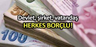 Devlet, şirket, vatandaş; herkes borçlu! CHP den borç yapılandırma fonu önerisi