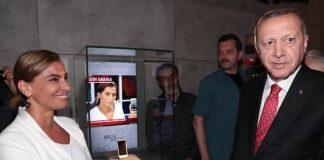 Hande Fırat ın Erdoğan ile görüştüğü telefon müzede sergileniyor