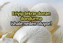 İshal nedenleri: Eriyip yeniden donan dondurma ishale sebep oluyor!