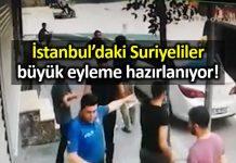İstanbul daki Suriyeliler geniş çaplı eylem yapmaya hazırlanıyor!