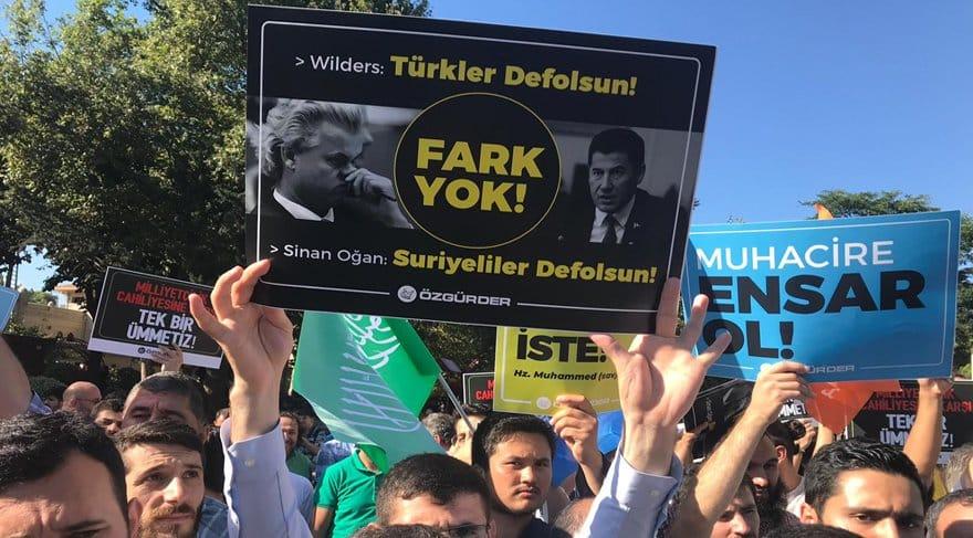 istanbul suriyeliler eylemi protesto arbede türk