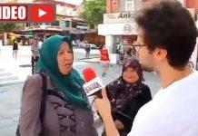 Sokak röportajında şok sözler: CHP ye oy verenlerin ellerini kesmek gerek