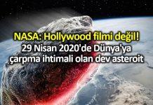 2020 yılında Dünya ya çarpma ihtimali olan göktaşı 1998 OR2