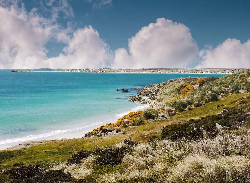 Falkland Adaları dünyanın en az nüfuslu ülkeleri