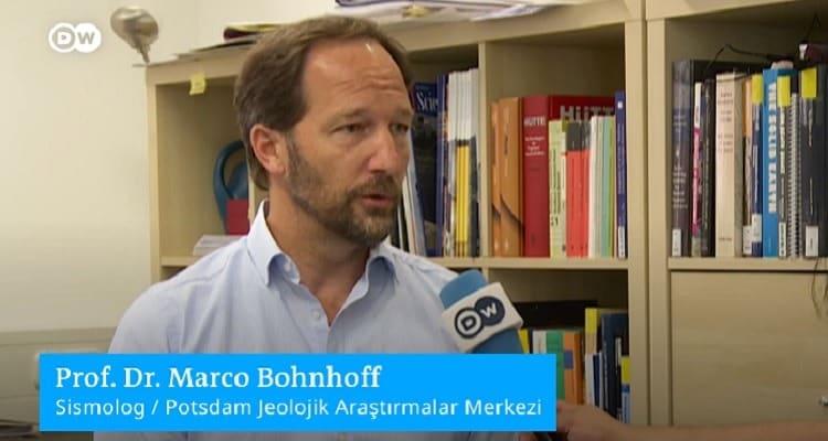 Prof. Bohnhoff İstanbul depremi 7.0 ila 7.4 büyüklüğünde olacak!