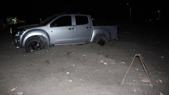 antalya kumluca Caretta caretta koruma alanında drift yapan sürücüye 60 bin lira ceza