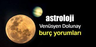 Astroloji: Kova burcunda Venüsyen Dolunay burç yorumları