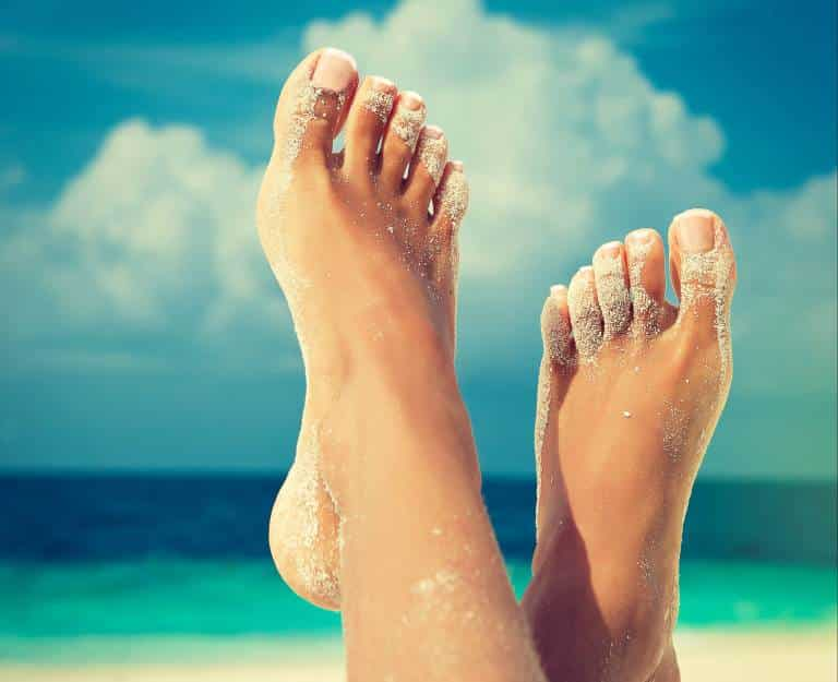 ayaklar güzellik