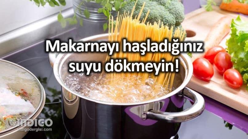 Besin değeri korunması için yemek pişirmede püf noktalar