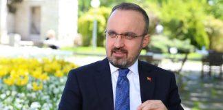 AKP li bülent Turan: Ağaçlar kesildikten sonra eylem yapıyoruz, bu eylemlerin kime faydası var?