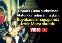 Büyükada Sinagogu 30 Ağustos İzmir Marşı ile kutlandı