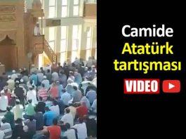 Camide Atatürk tartışması: Siyasi hutbe cemaatte gerginliğe neden oldu!