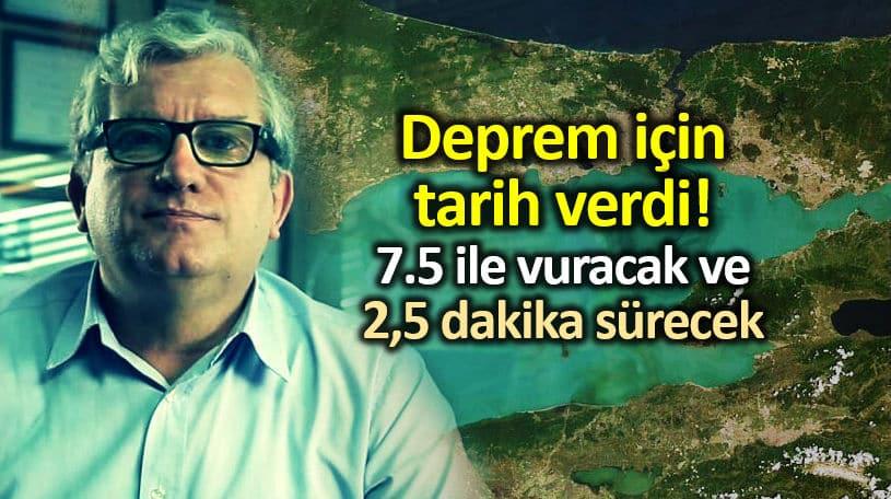 Deprem en az 7.5 ile vuracak; 2,5 dakika sürecek!