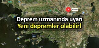 Deprem uzmanından vatandaşa uyarı: Yeni depremler olabilir!