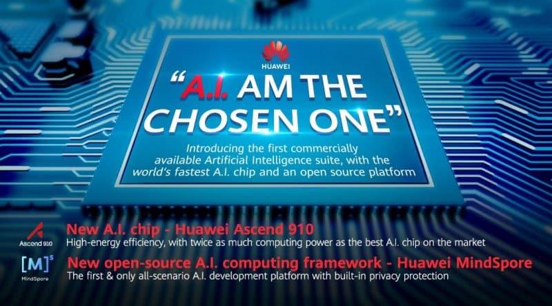 Dünyanın en güçlü yapay zeka işlemcisi: Huawei Ascend 910 ve MindSpore