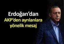 Erdoğan: Birçok ayrılık olabilir, kardeşliğimizi böldürtmeyeceğiz