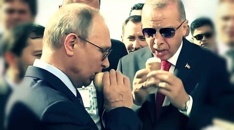 erdoğan putin dondurma