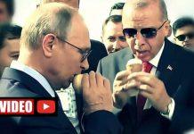 erdoğan putin helikopter dondurma makam aracı