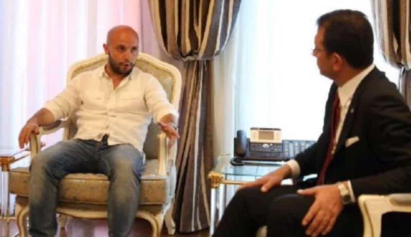 Eski İBB çalışanlarının İmamoğlu'nun yanında oturuş şekilleri tepki çekti