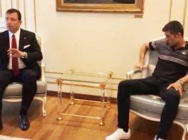 ekrem imamoğlu yanında oturuş akp li başkan olsaydı böyle mi oturacaklardı
