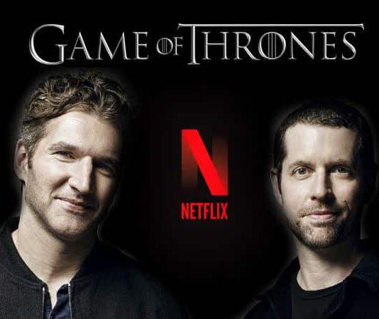 Game of Thrones dizisi yaratıcıları Benioff ve Weiss, Netflix ile anlaştı