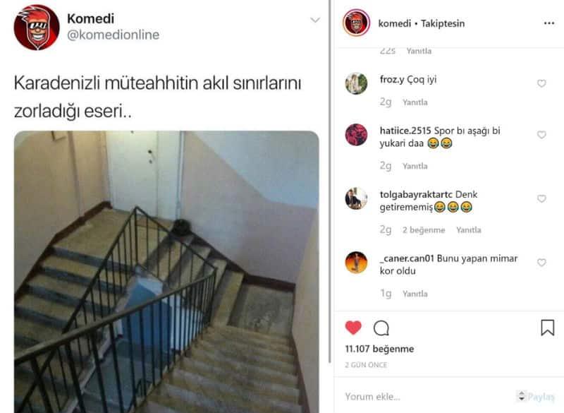 instagram komedi mizah sayfası Yurdum insanından enteresan çözümler