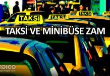 İstanbul'da taksi ücretlerine yüzde 25, minibüse yüzde 20 zam