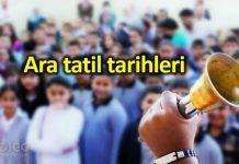 MEB ara tatil tarihleri: Okullar ne zaman açılıyor?