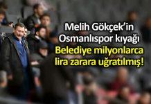 Melih Gökçek in Osmanlıspor kıyağına soruşturma!