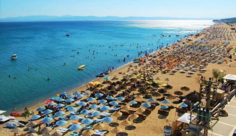 sarımsaklı plajı ayvalık
