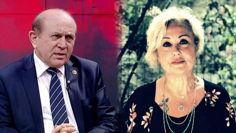Şengül Hablemitoğlu, Burhan Kuzu nun mesajına yanıt verdi: Edepsiz çirkef!