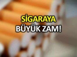 Sigara fiyatları ne kadar oldu hangi liste Yüzde 20 nin üstünde zam enflasyonu da etkileyecek