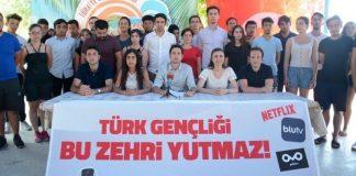 Türkiye Gençlik Birliği (TGB) Netflix, Blutv, Puhutv açıklaması