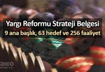 Yargı Reformu Strateji Belgesi: Adalet Bakanı açıkladı