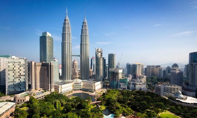 Yeşile ve maviye doymak için: Kuala Lumpur