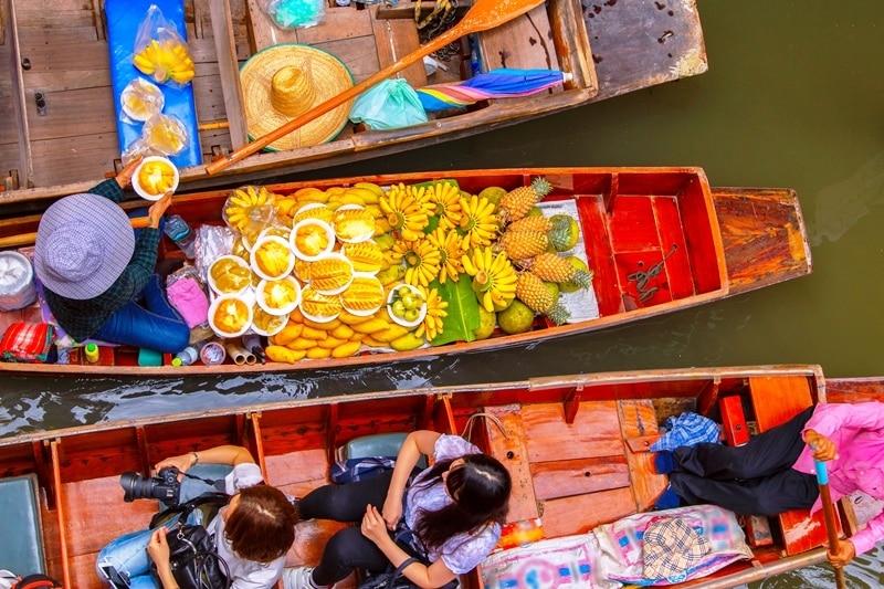 Egzotik bir yolculuk için: Bangkok