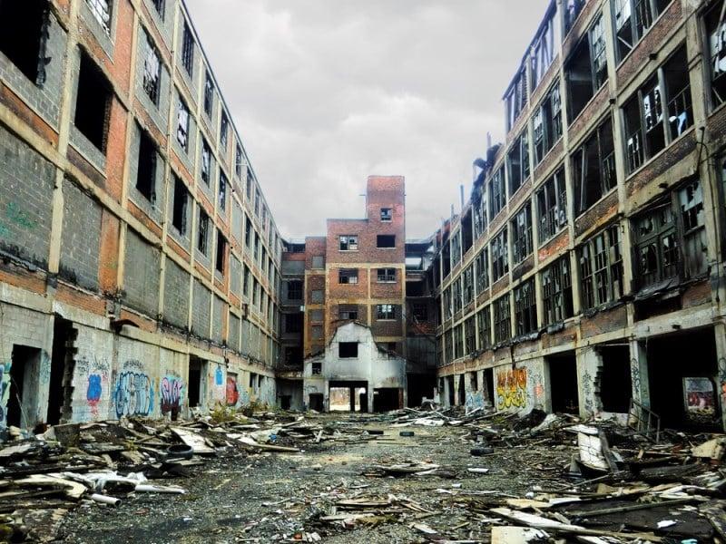 Detroit, Amerika Birleşik Devletleri terk edilmiş şehirler