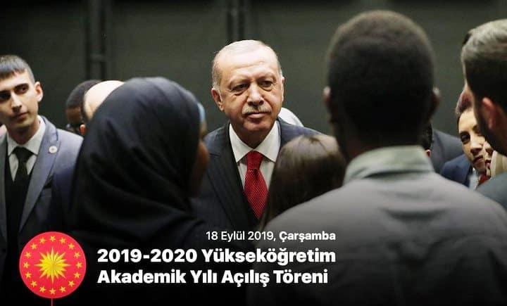 Erdoğan Her üniversite bitirenin iş sahibi olması diye bir şey yok