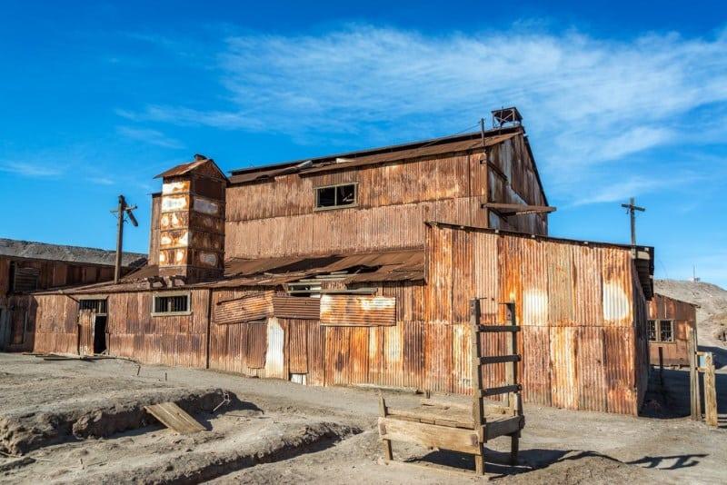 Humberstone, Şili terk edilmiş şehirler