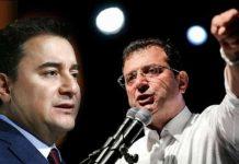 AKP kulisi: Babacan yüzde 10 alırsa, İmamoğlu başkan olur