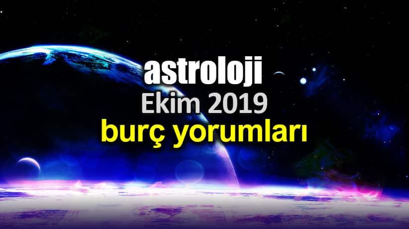 Astroloji: Ekim 2019 aylık burç yorumları