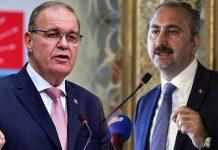 CHP faik öztrak Adalet Bakanı abdülhamit gül yorumu Maklubeyi hep birlikte avuçladılar!